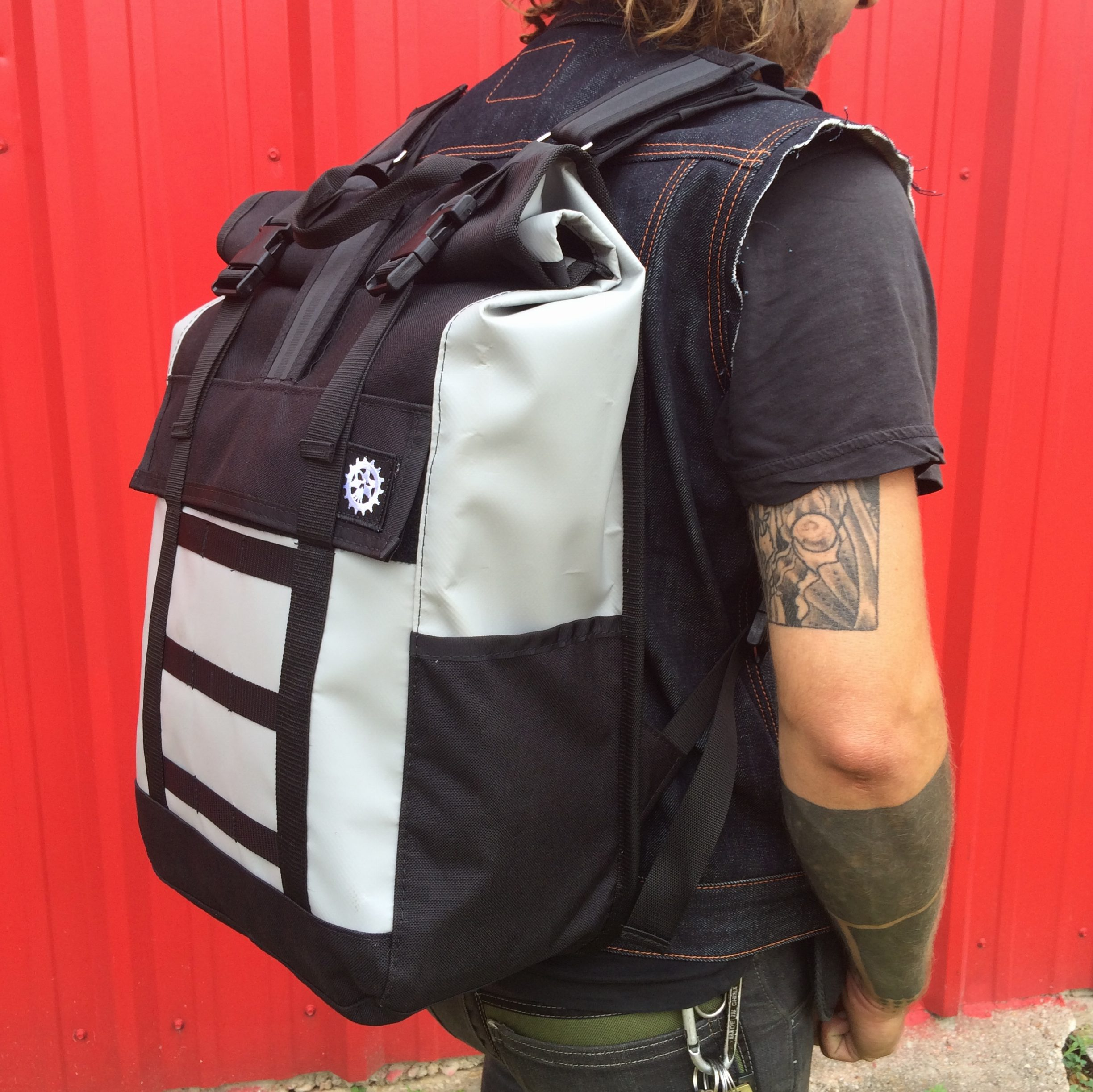 Roll Top Weatherproof Backpack - The Proletariat